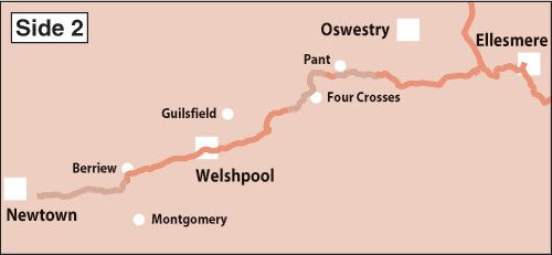 Heron Maps - Llangollen and Montgomery Canals