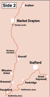 Heron Maps - Shropshire Union Canal Side 2