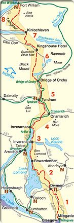 West Highland Way: Map & Guide