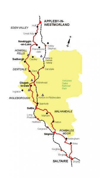 Outline Map of Route