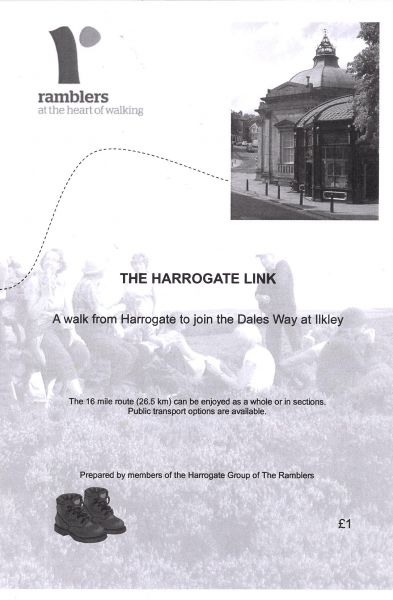 Harrogate link :  a walk from Harrogate to join the Dales Way at Ilkley