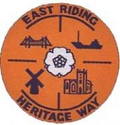 Badge for East Riding Heritage Way