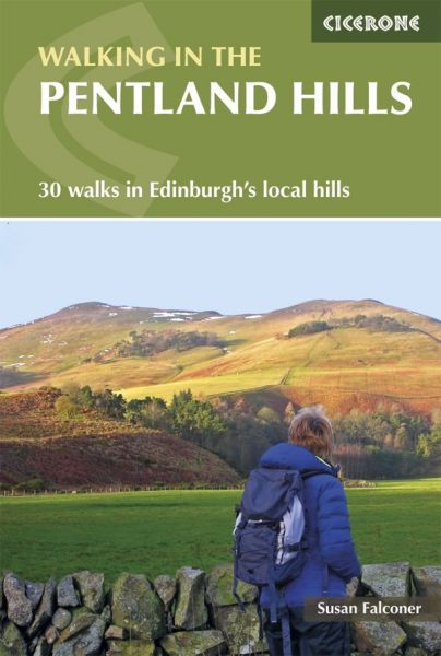 Walking in the Pentland hills : 30 walks in Edinburgh's local hills