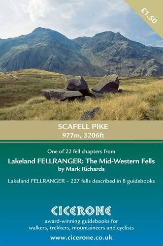 Scafell Pike: Extract from the mid-Western Fells