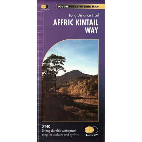 Affric Kintail Way (Route Maps)
