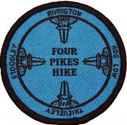 Badge for Four Pikes Hike