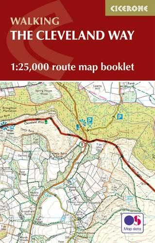 Cleveland Way Map Booklet: 1:25,000 OS Route Mapping (British Long Distance)