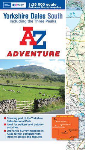 Yorkshire Dales South Adventure Atlas (A-Z Adventure Atlas)