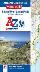 SW Coast Path South Devon Adventure Atlas: 2