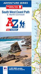 SW Coast Path North Cornwall Adventure Atlas: 3