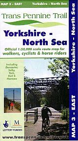 Trans Pennine Trail Map 3 - East: Yorkshire - North Sea