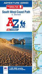 SW Coast Path 5: Dorset Adventure Atlas