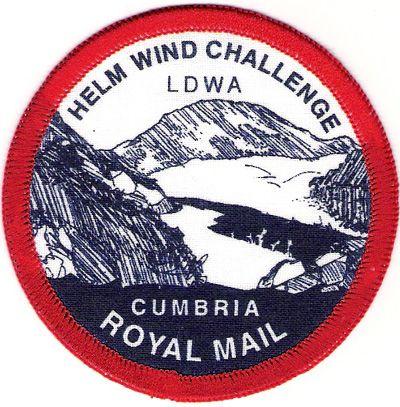 Badge & Certificate for Helm Wind Walk