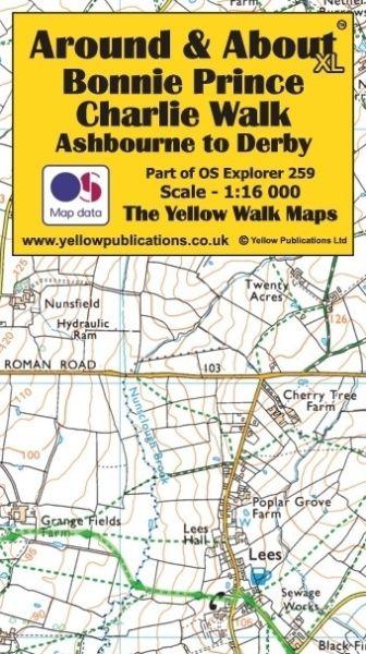 Bonnie Prince Charlie Walk, Ashbourne to Derby