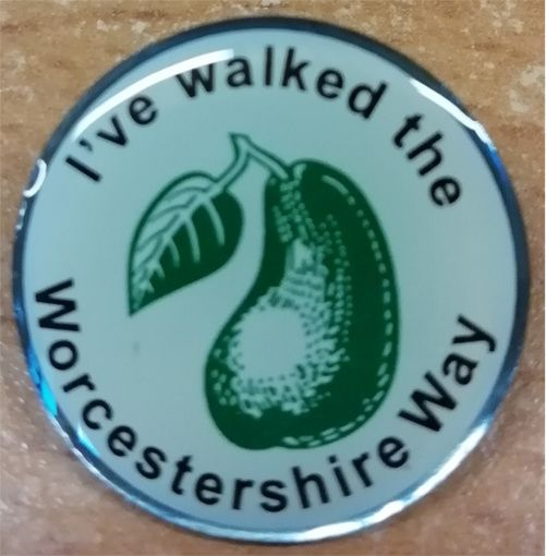 Badge for Worcestershire Way