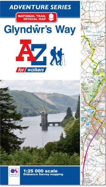 Glyndwr's Way Adventure Atlas (A-Z Adventure series)