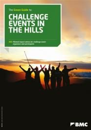 Green guide to challenge events in the hills