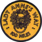 Badge for Lady Anne's Way
