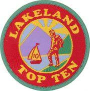 Badge & Certificate for Lakeland Top Ten