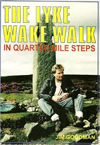 Lyke Wake Walk in quarter mile steps