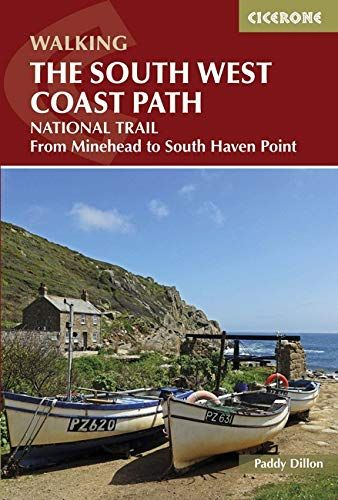 South West Coast Path: From Minehead to South Haven Point (UK Long-Distance Trails)
