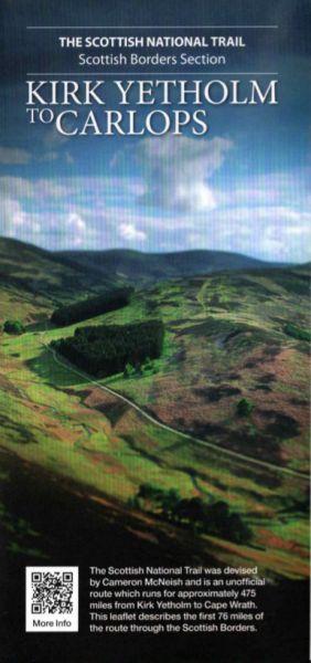 Scottish National Trail: Kirk Yetholm to Carlops