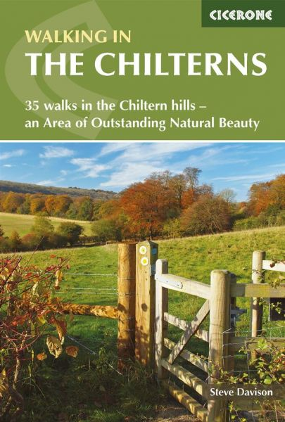 Walking in the Chilterns : 35 walks in the Chiltern hills : an Area of Outstanding Natural Beauty