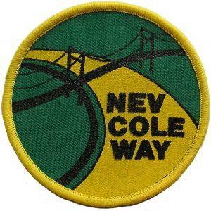 Badge & Certificate for Nev Cole Way
