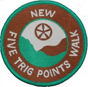Badge & Certificate for New Five Trig Points Walk