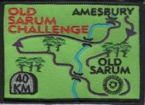 Badge for Old Sarum Challenge