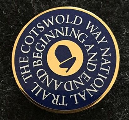 Cotswold Way enamel badge