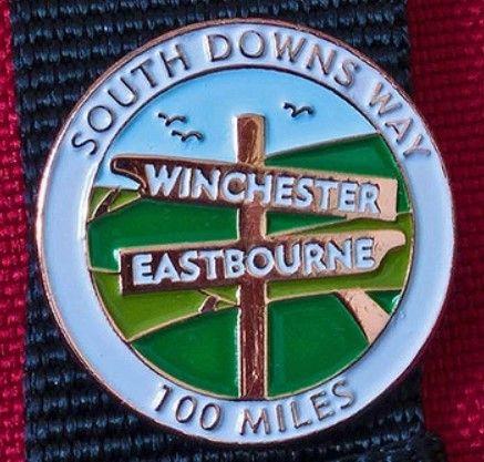 South Downs Way pin / lapel badge