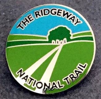 Ridgeway enamel badge