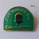Cotswold Way enamel pin badge