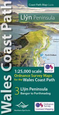 Wales Coast Path Official Guide: Llyn Peninsula OS Map Atlas