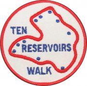 Badge & Certificate for Ten Reservoirs Walk