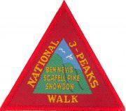 Badge & Certificate for Three Peaks of Great Britain