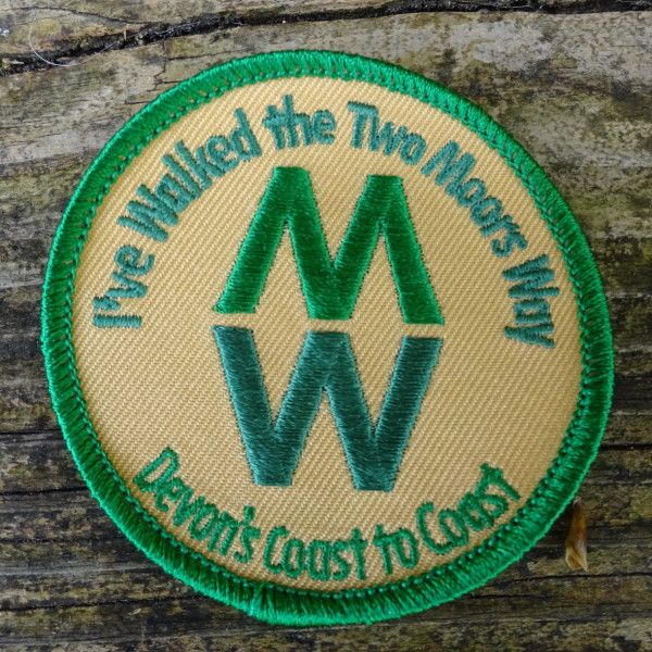 Badge for Two Moors Way