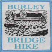 Badge & Certificate for Burley Bridge Hike
