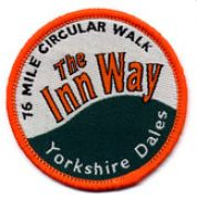 Badge for Inn Way ... to the Yorkshire Dales