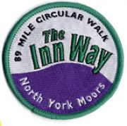 Badge for Inn Way ... to the North York Moors