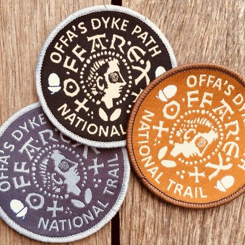 Badge for Offa's Dyke Path National Trail