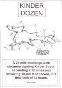 Certificate for Kinder Dozen Challenge