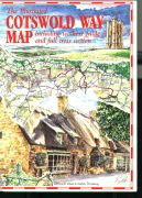 Cotswold Way illustrated map