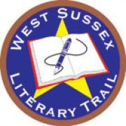Badge for West Sussex Literary Trail