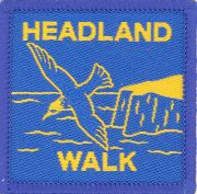Badge for Headland Walk