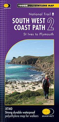 South West Coast Path: Map 2:Bude to Portreath
