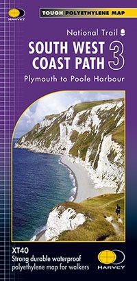 South West Coast Path: Map 3: Portreath to Lizard Point