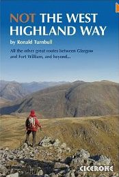 NOT the West Highland Way: diversions over mountains, smaller hills or high passes for 8 of the Way's 9 stages