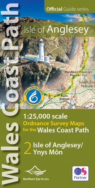 Wales Coast Path Official Guide: Isle of Anglesey OS Map Atlas